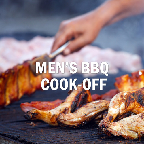 Men's BBQ Cook-Off, June 8