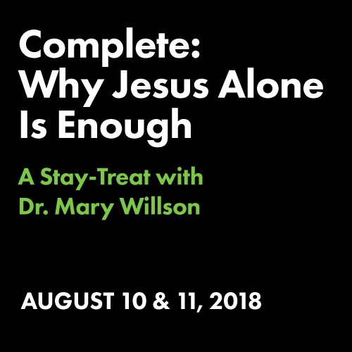 Complete: Why Jesus Alone Is Enough