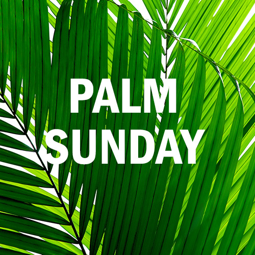 March 25, 2018 - Palm Sunday